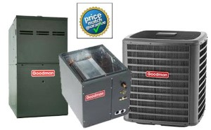 2 Ton Goodman DSXC160241A CAPF3636B6D GMVC80604BNB SEER 16 Air Conditioner GAS FURNACE Split System