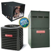 3 Ton Goodman DSXC180361A CHPF4860D6D GMVC80805CNB SEER 18 Air Conditioner GAS FURNACE Split System