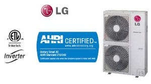LG 48000 BTU LMU480HV Outdoor Unit Condenser Air Conditioner Unit