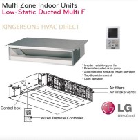 LMDN096HV 9000 BTU LG Concealed Duct Low Static Air Handler