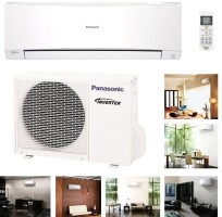 Panasonic CUE12JKK-CSE12JKKW Btu 17.5 SEER (230 Volt) HEAT PUMP Air-Conditioner System