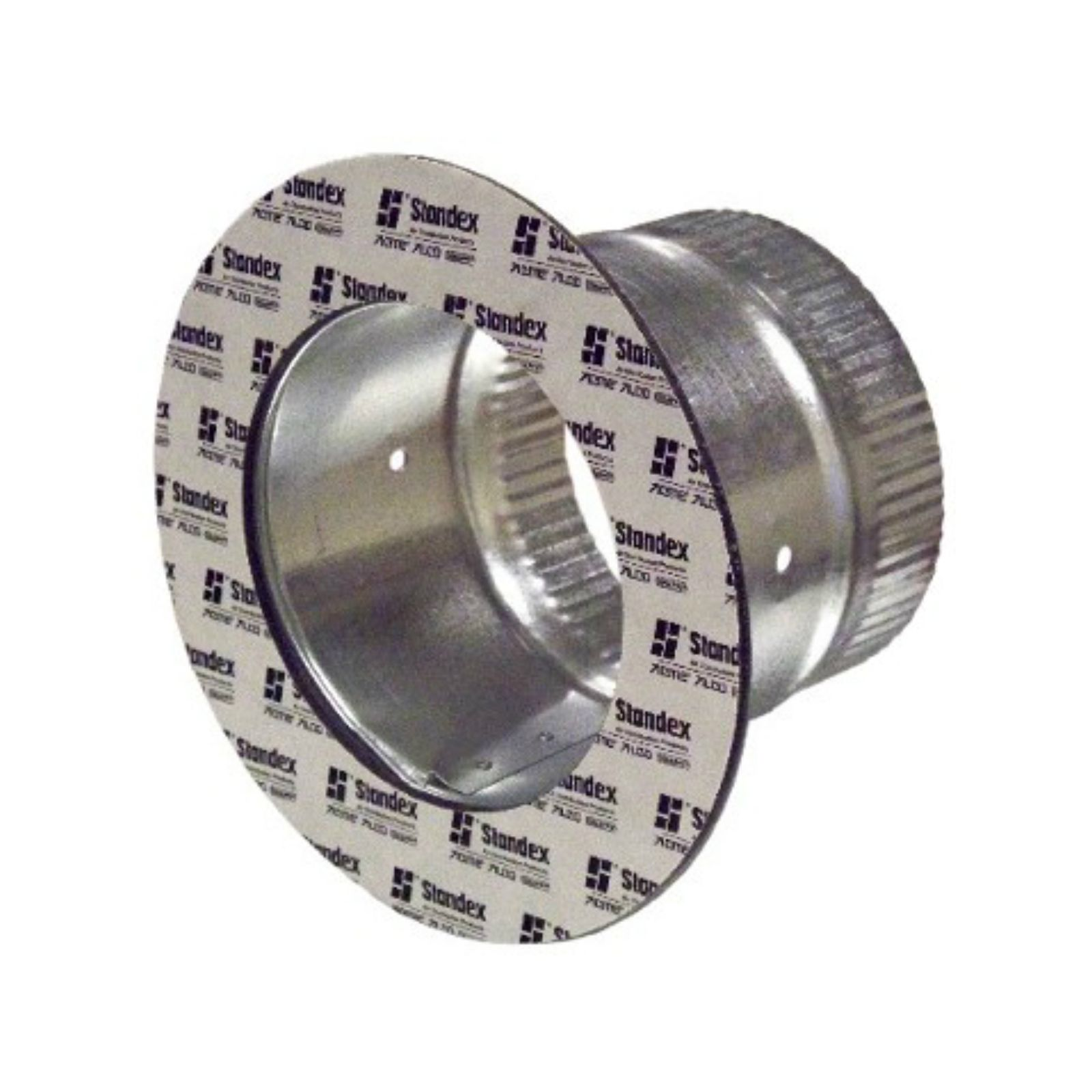 "Snappy 167-10 - #167 - Adhesive Takeoff, 6"" Tube Length, 1 1/2"" Flange, for 10"" Duct"