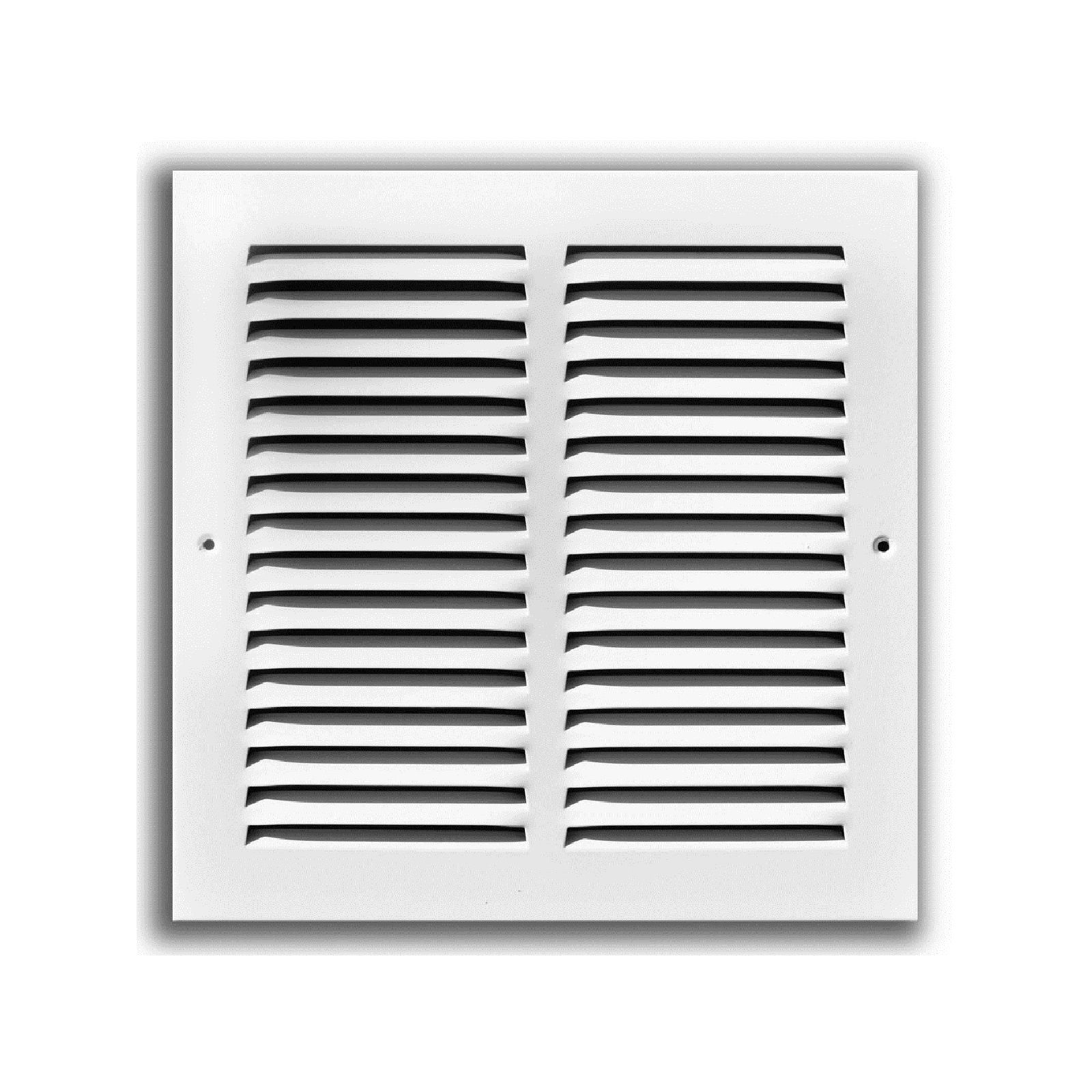 "TRUaire 170 18X12 - Steel Return Air Grille - 1/2"" Spaced Fin, White, 18"" X 12"""