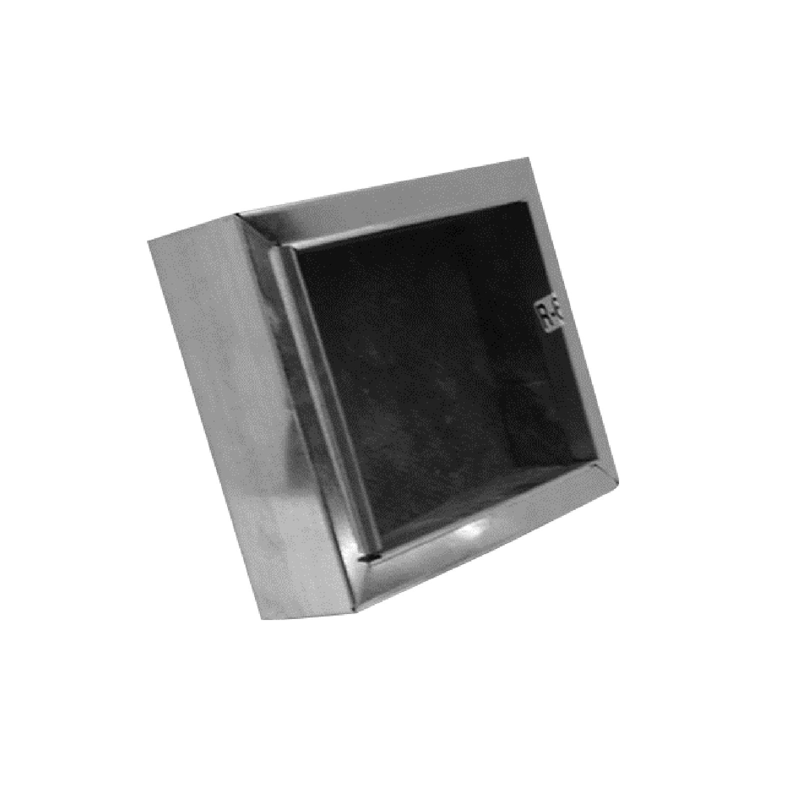 "Mitchell Metal 40R61208 - 12"" X 8"" Ductboard Register Box - R6 Ductboard Applications"