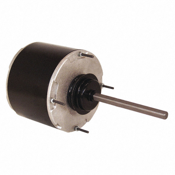 CENTURY 1/2 HP Condenser Fan Motor,Permanent Split Capacitor,1075 Nameplate RPM,208-230/460 Voltage,Frame 48
