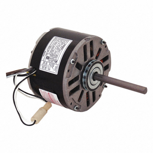CENTURY 1/6 HP Direct Drive Blower Motor, Permanent Split Capacitor, 1625 Nameplate RPM, 208-230 Voltage