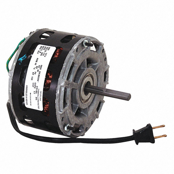 CENTURY 1/20 HP Direct Drive Motor, Shaded Pole, 1045 Nameplate RPM, 115 VoltageFrame 42