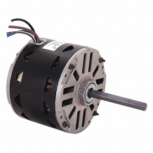 CENTURY 1/8 HP Direct Drive Motor, Permanent Split Capacitor, 1075 Nameplate RPM, 230 VoltageFrame 48Y
