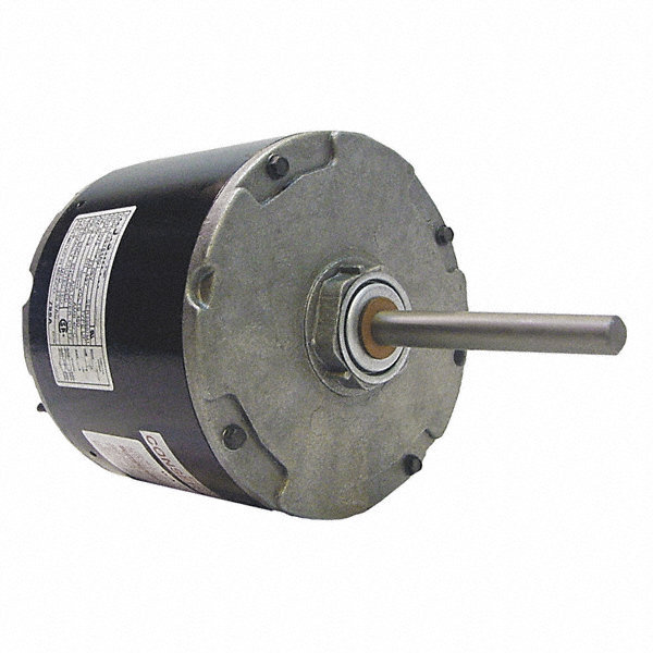 CENTURY 1/3 HP Direct Drive Motor, Permanent Split Capacitor, 1075 Nameplate RPM, 460 VoltageFrame 48Y