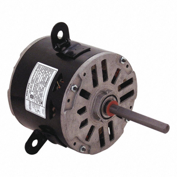 CENTURY 1/3 HP Direct Drive Motor, Permanent Split Capacitor, 1075 Nameplate RPM, 208-230 VoltageFrame 48Y