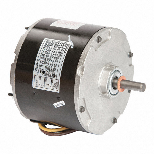 CENTURY 1/5 HP Condenser Fan Motor, Permanent Split Capacitor, 825 Nameplate RPM, 208-230 VoltageFrame 48Y