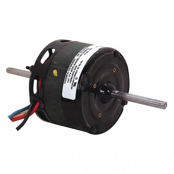 CENTURY 1/15 to CENTURY 1/25 HP Direct Drive Motor, Shaded Pole, 1550 Nameplate RPM, 115 VoltageFrame 4.3