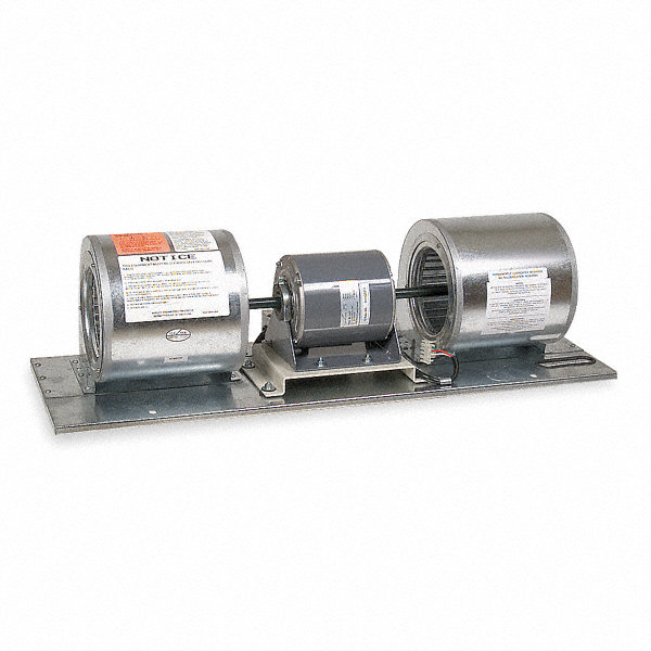 DAYTON Air Curtain BDAYTON Lower Assembly, Motor HP 3/4, 4850 fpm, Max. RPM 1480, Max. Amps 7.8