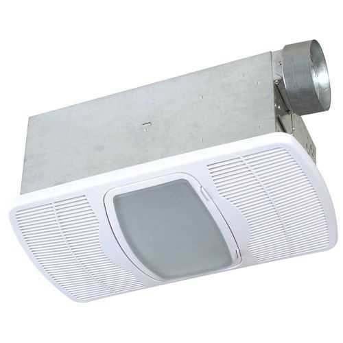 Air King AK965 100 Watt Galvanized Steel Deluxe Combination Heater and Exhaust Fan with Light and Night Light