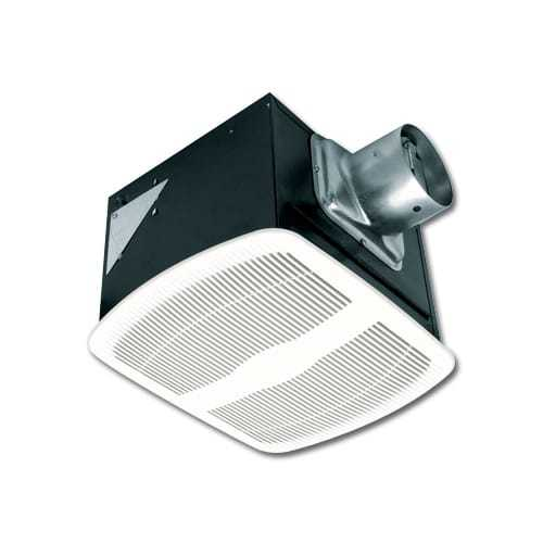 Air King AK110LS Energy Star 110 CFM Quiet Deluxe Bath Fan Only with 1.5 Sones