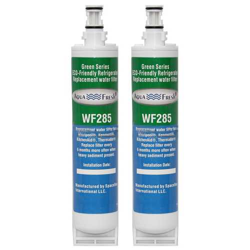 Aqua Fresh Water Filter Cartridge For Kenmore 51069 Refrigerators - 2 Pack