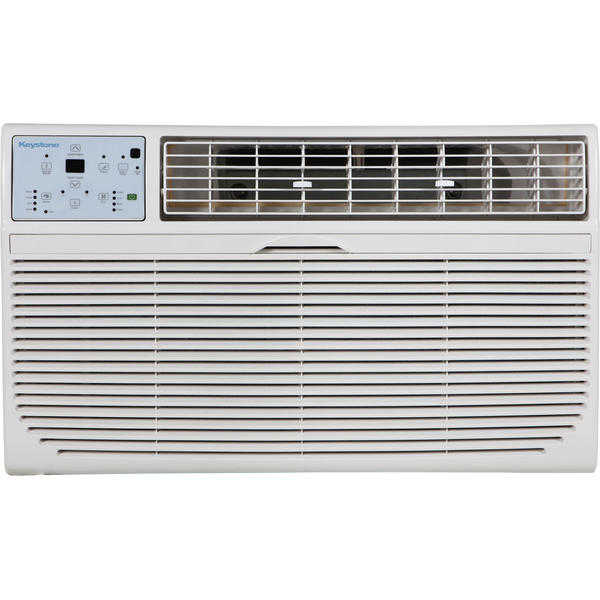 Keystone KSTAT10-2C 10,000 BTU 230V Through-the-Wall Air Conditioner with 'Follow Me' LCD Remote Control