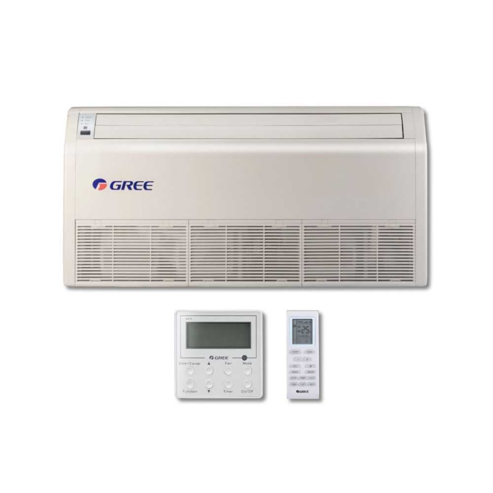 Gree MULTI42CFLR207 - 42,000 BTU Multi21+ Dual-Zone Floor/Ceiling Mini Split Air Conditioner Heat Pump 208-230V (18-18)