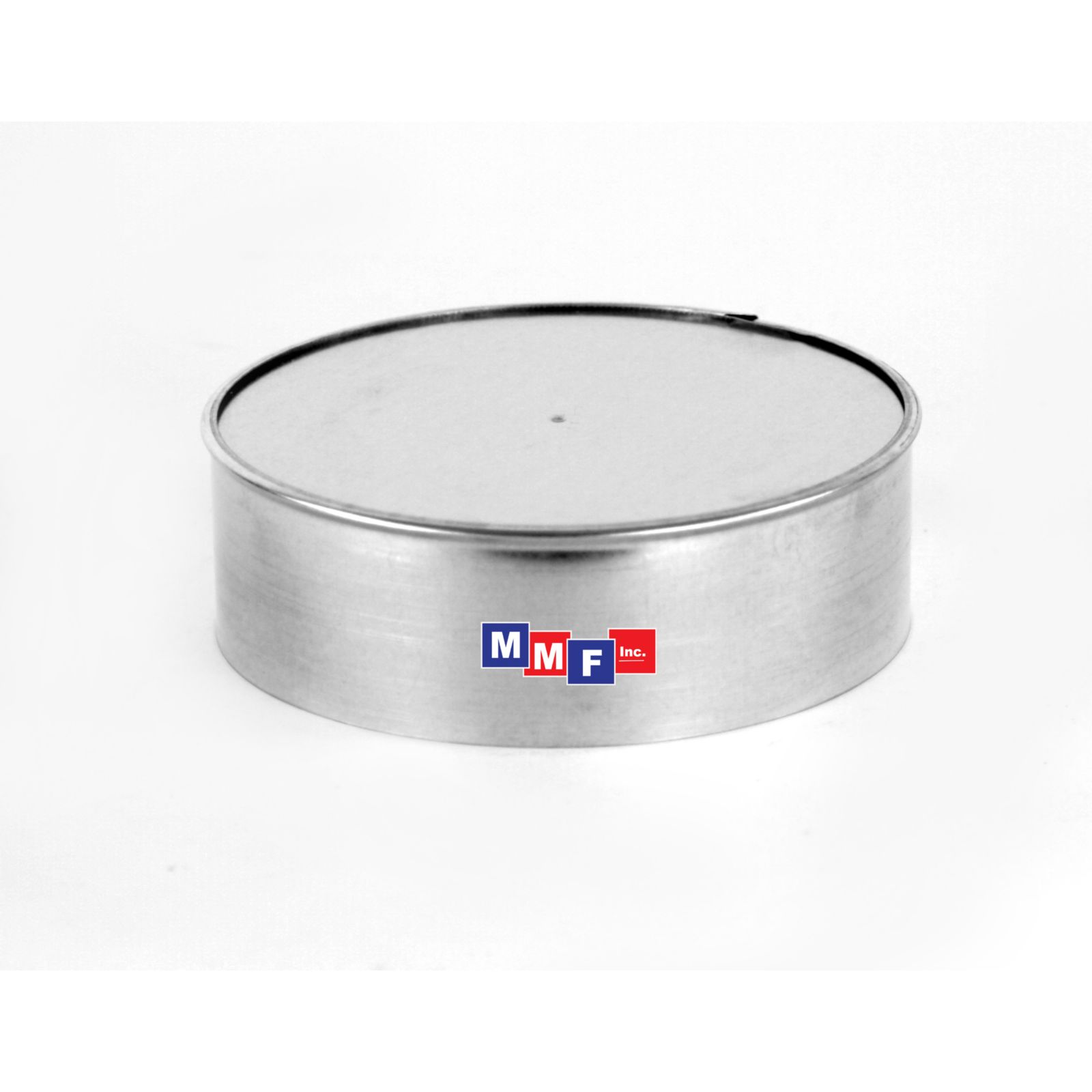 "Modular Metal ECI06 - End Cap - 26 Gauge - 2"" High 06"" Round - Galvanized"