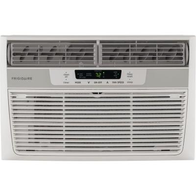 8,000 BTU 115-Volt Window-Mounted Mini-Compact Air Conditioner with Temperature Sensing Remote Control