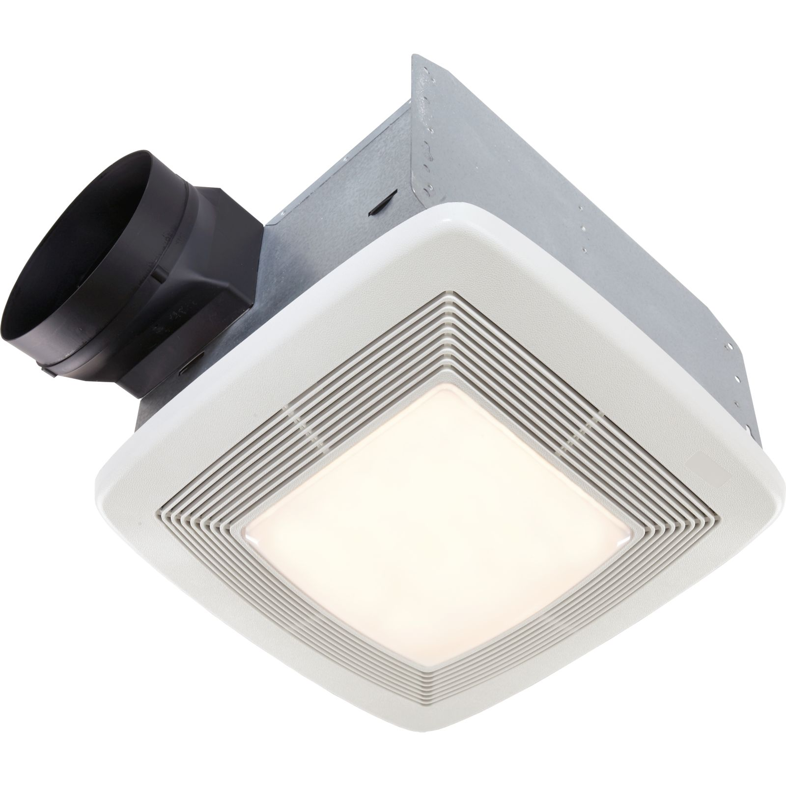 Broan QTXE080FLT - 80 CFM, 0.3 Sones, Energy Star Fan/Fluorescent Light/Night-Light. CA Only - Title 24 Compliant.